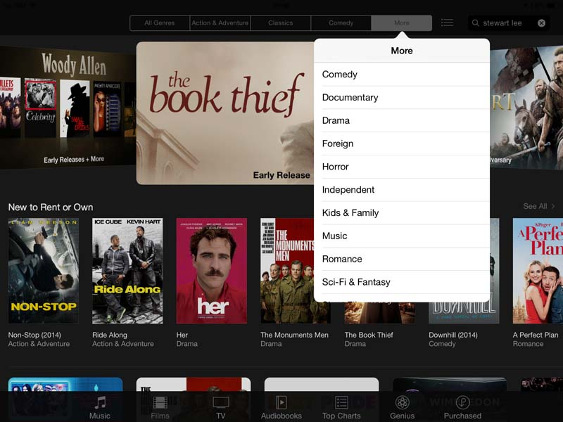 how to get itunes to download movies on ipad
