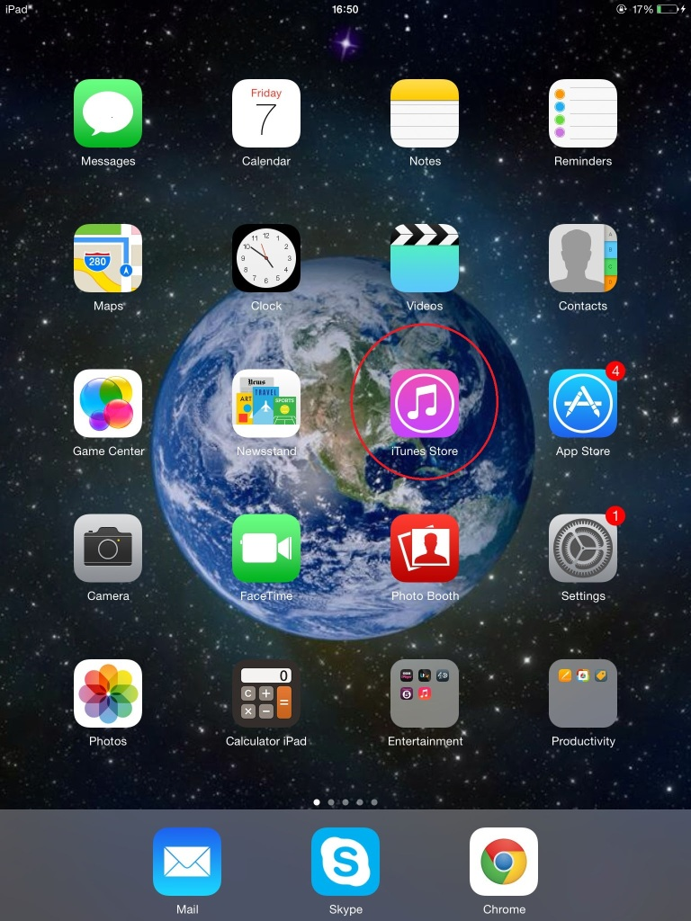 iTunes - Store icon